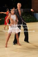 Mykola Belbas & Khrystyna Systalyuk at UK Open 2013