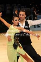 Arsen Agamalian & Oksana Vasileva at UK Open 2014
