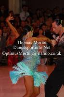 Sergey Sourkov & Agnieszka Melnicka at Blackpool Dance Festival 2011