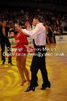 Sergey Sourkov & Agnieszka Melnicka at German Open Championships 2009