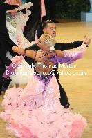 Roberto Villa & Morena Colagreco at UK Open 2010