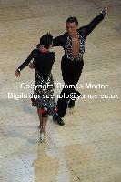 Dorin Frecautanu & Roselina Doneva at International Championships 2009