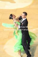 Lukasz Tomczak & Aleksandra Tomczak at The International Championships