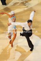 Emanuele Soldi & Elisa Nasato at The International Championships