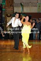 Emanuele Soldi & Elisa Nasato at Dutch Open 2009