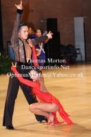Li Di & Zhao Lei at UK Open 2013