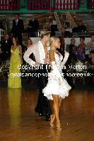 Kirill Belorukov & Elvira Skrylnikova at Dutch Open 2009