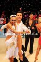 Alessandro Camerotto & Nancy Berti at UK Open 2013