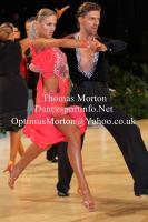 Aleksandr Andreichev & Kristina Nikiforova at UK Open 2013