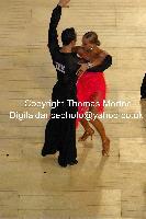 Franco Formica & Oxana Lebedew at International Championships 2009