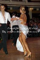 Franco Formica & Oxana Lebedew at WDC World Professional Latin Championships