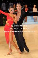Mykhaylo Bilopukhov & Anastasiya Shchipilina at UK Open 2013