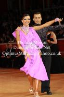 Denys Drozdyuk & Antonina Skobina at International Championships 2011