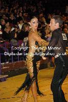 Stefano Moriondo & Malene Ostergaard at International Championships 2009