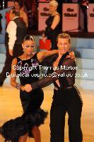 Stefano Moriondo & Malene Ostergaard at UK Open 2010