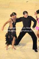 Evgeni Smagin & Polina Kazatchenko at The International Championships