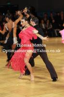 Evgeni Smagin & Polina Kazatchenko at UK Open 2011