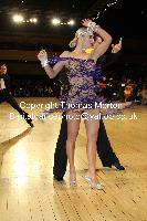 Evgeni Smagin & Polina Kazatchenko at UK Open 2010
