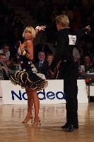 Peter Stokkebroe & Kristina Stokkebroe at Aarhus International Galla 2004
