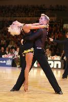 Peter Stokkebroe & Kristina Stokkebroe at 2009 WDC European Latin Championship