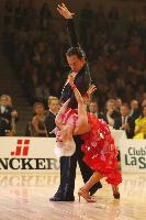 Michal Malitowski & Joanna Leunis at 2009 WDC European Latin Championship