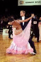 Domen Krapez & Monica Nigro at German Open 2006