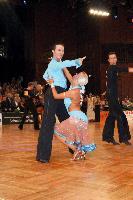 Andrew Cuerden & Hanna Haarala at German Open 2006