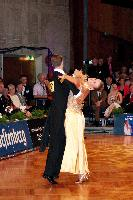 Arunas Bizokas & Edita Daniute at German Open 2006
