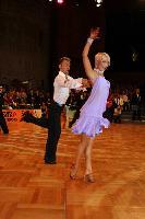 Jesper Birkehoj & Anna Anastasiya Kravchenko at German Open 2007