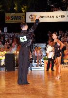 Eugene Katsevman & Maria Manusova at German Open 2006