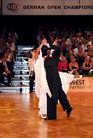 Marat Gimaev & Alina Basyuk at German Open 2006