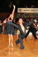 Alex Wei Wang & Roxie Jin Chen at German Open 2007
