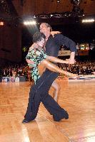 Andrei Bushchik & Valeria Bushueva at German Open 2006