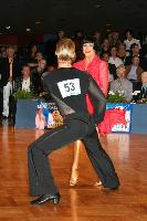 Andrei Bushchik & Valeria Bushueva at German Open 2007