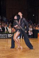Stefano Di Filippo & Anna Melnikova-Duknauske at German Open 2006