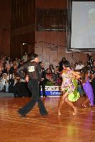Stefano Di Filippo & Anna Melnikova-Duknauske at German Open 2007