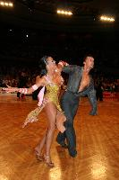 Benedetto Capraro & Marta Faiola at German Open 2007