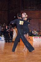 Matej Chren & Miroslava Kosorinova at German Open 2006