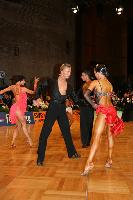 Vassili Anokhine & Tina Bazokina at German Open 2007