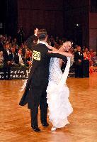 Valerio Colantoni & Sara Di Vaira at German Open 2006