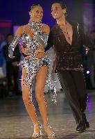 Armen Tsaturyan & Alina Zharullina at Polish Open 2007