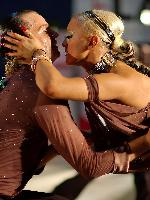 Eldi Buci & Fay Desikou at Polish Open 2007