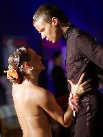 Pawel Bartelik & Paulina Dabek at Polish Open 2007