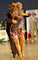 Aleksandr Latushkin & Diana Matlak at Polish Open 2007