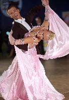 Veiko Ratas & Helena Liiv at Polish Open 2007