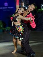 Pawel Milcarz & Agnieszka Kaczorowska at Polish Open 2007