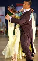 Mateusz Glowa & Aleksandra Niedospial at Polish Open 2007
