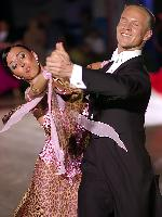 Wiktor Kiszka & Malgorzata Garlicka at Polish Open 2007