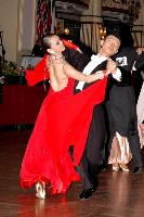 Chao Yang & Yiling Tan at Blackpool Dance Festival 2004