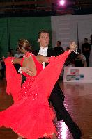 Domen Krapez & Monica Nigro at Crystal Palace Cup 2004